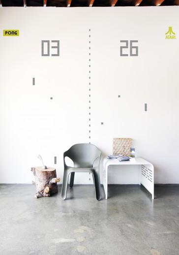Pegatinas de pared gigantes:  Pong