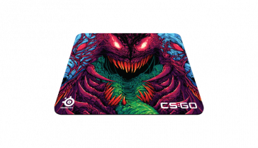 Alfombrilla Steelseries QCK+ CS:GO Hyperbeast