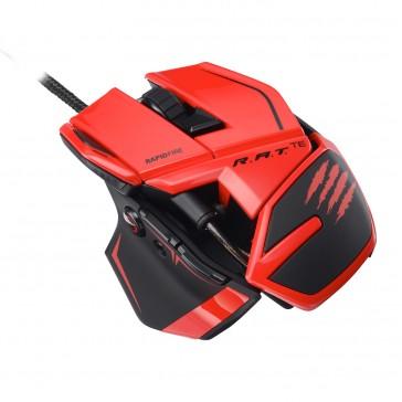 Ratón Mad Catz R.A.T. TE - 8200 DPI-  Rojo -Láser