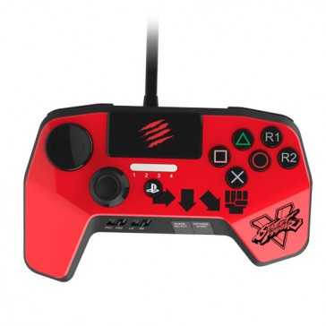 FightPad Mad Catz SFV PRO A3 Red Ken- PS4/PS3