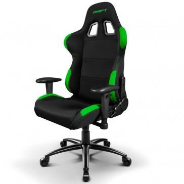 Silla Gaming Drift DR100 - Negra Verde