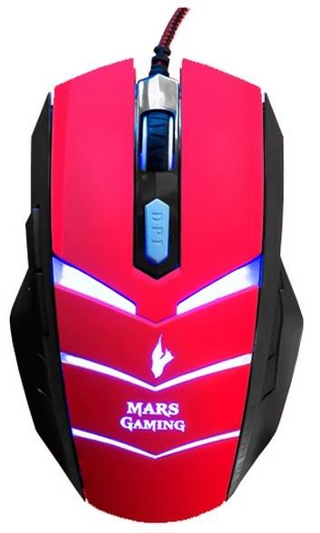 Ratón Mars Gaming Vulcano MMVU1