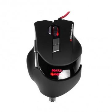 Ratón Mars Gaming MM3 - Láser - 16400DPI