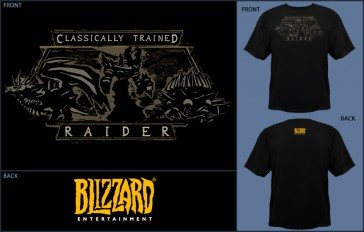 Camiseta Jinx WOW Classic Trained Raider -Talla XL
