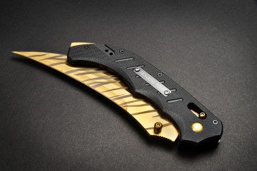Cuchillo FadeCase Flip Elite - Tiger Tooth