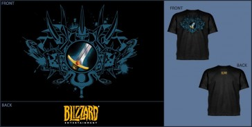Camiseta Jinx WOW Warrior Class - Talla S