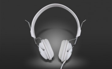 Auriculares On Earz Lounge Pure White