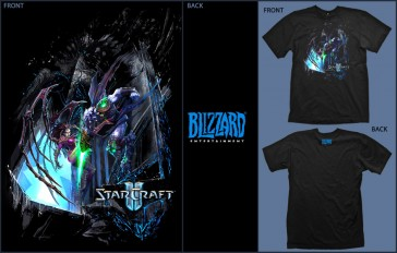 Camiseta Jinx STARCRAFT 2 Wings of Liberty-Talla M