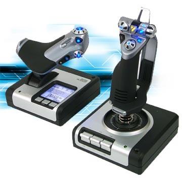 Joystick Logitech Saitek X52 HOTAS