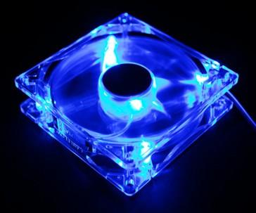 Ventilador Zalman ZM-F2 LED -  Azul 92mm