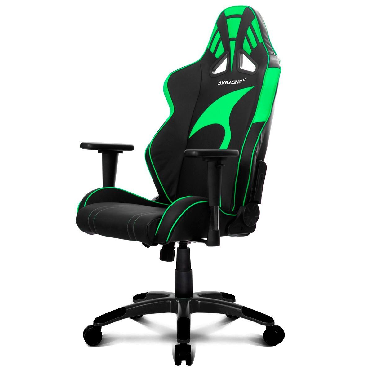 Comprar silla akracing ak 6013 bg negra verde en 4frags for Donde comprar una silla gamer