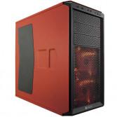 Caja Corsair Graphite Series 230T Naranja con ventana lateral transparente
