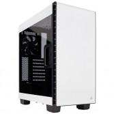 Caja Corsair Carbide Series Clear 400C Compact Blanca