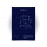 Poster CS:GO Coleccionista - de_train