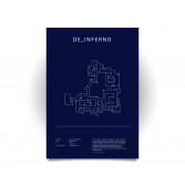 Poster CS:GO Coleccionista - de_inferno