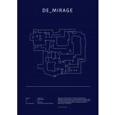 Poster CS:GO Coleccionista - Mirage