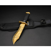 Cuchillo FadeCase Bowie - Tiger Tooth