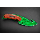 Cuchillo FadeCase Gut - Emerald