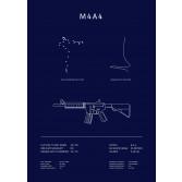 Poster CS:GO Coleccionista - M4A4