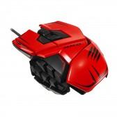 Ratón Mad Catz R.A.T. MMO TE - 8200 DPI - Rojo