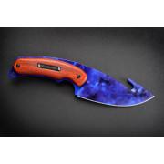 Cuchillo FadeCase Gut - Sapphire
