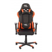 Silla Gaming 1337Industries GC787/NO Negra-Naranja