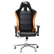 Silla 1337 Industries GC727 - Negra / Naranja