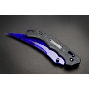 Cuchillo FadeCase Flip Elite - Sapphire