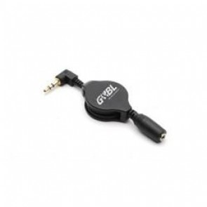 Adaptador Alargador Jack 3.5 - PC/Apple/MP3