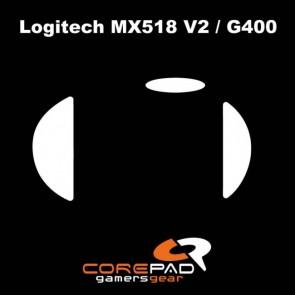 Surfers Corepad Skatez para Logitech G400 / G400s / MX518(V2)