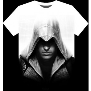 Camiseta Assassins Creed 2 -  Ezio - Talla XL