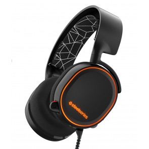 Auriculares SteelSeries - Arctis 5 - RGB - 7.1 - Negro  - PC, PS4, Xbox One, Switch, VR, Android y Mac