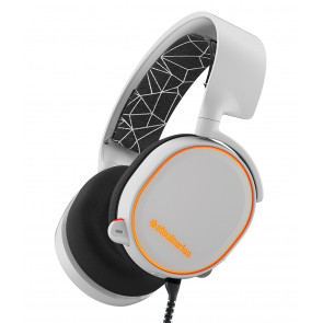 Auriculares SteelSeries - Arctis 5 - RGB - 7.1 - Blanco - PC, PS4, Xbox One, Switch, VR, Android y Mac
