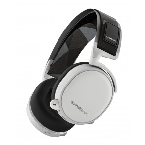 Auriculares SteelSeries - Arctis 7 - Wireless - Blanco - PC, PS4, Xbox One, Switch, VR, Android y Mac