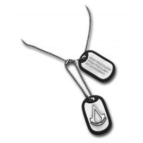 Assassins Creed Metal Dog Tag
