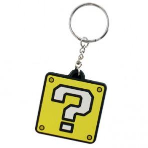 Llavero de goma QuestionMark Block - Nintendo