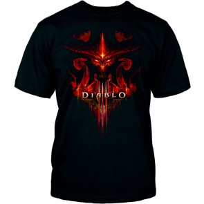 Camiseta Diablo III - Burning - Talla S