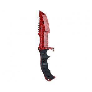 Cuchillo FadeCase Huntsman - Crimson Web