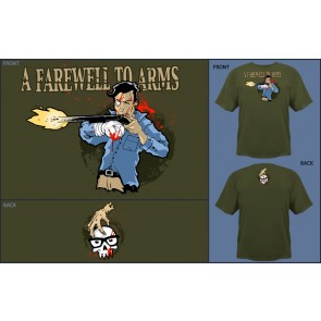 Camiseta Jinx A Farewell to Arms Military -Talla S