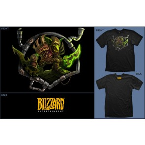Camiseta Jinx WOW Goblin Black - Talla L