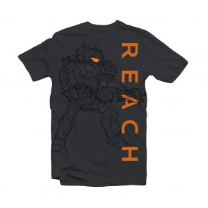 Camiseta Halo Reach Noble Soldier - Talla L