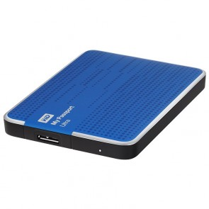 Western Digital 500GB My Passport Ultra - Azul