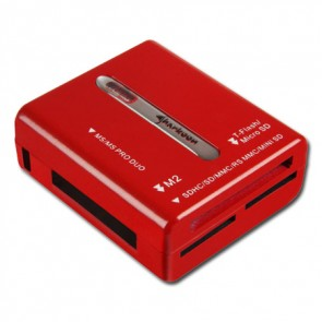 Sharkoon Media Reader S - Rojo