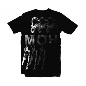 Camiseta Medal of Honor - Shadows - Talla M
