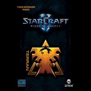 Pegatina Starcraft 2 Terran