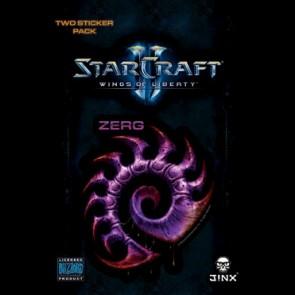 Pegatina Starcraft 2 Zerg