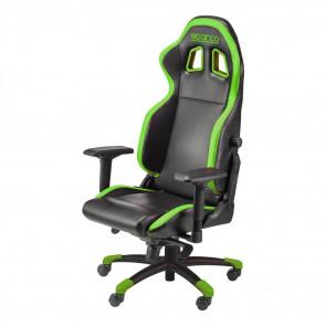 Silla Sparco Gaming Grip - Negra Verde