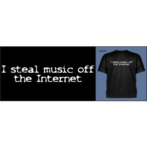 Camiseta Jinx I steal music off - Talla M