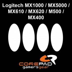 Surfers Corepad Skatez para Logitech MX1000 / MX 5000 / MX610 / MX620 / MX500 / MX400