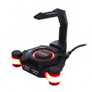 Mouse Bungee Mars Gaming + Hub MMS1